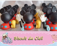 Aplique para cx acrílica casa do mickey