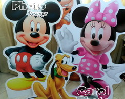 Totens em PVC de 2mm de 1,20m do Mickey