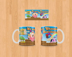 Caneca Personalizada Candy Crush
