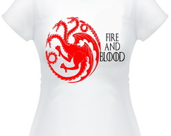 Camisetas Game of Thrones,Casa Targaryen