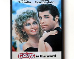 Quadro Grease (Cartaz)