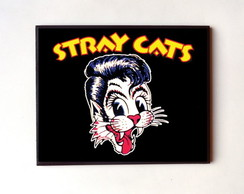 Quadro Stray Cats (Logo)