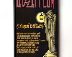 Quadro Led Zeppelin (Stairway to Heaven)