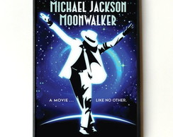 Quadro Michael Jackson (Moon Walker)