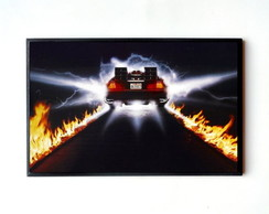 Quadro Back to the Future (De Lorean)