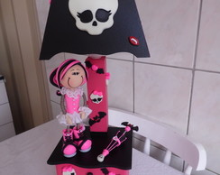 Abajur com gaveta Monster High