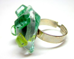 Anel - Vidro EXCLUSIVO / Glass Ring
