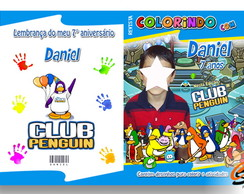 Revista Personalizada Club Penguin