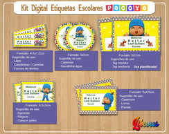 Kit Escolar Digital Pocoyo