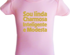 Body Sou linda, charmosa, inteligente e