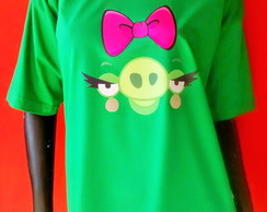 Camiseta Angry Bird - Bad Pig Girl