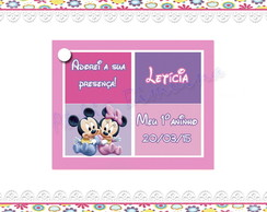 Tag Personalizado Minnie