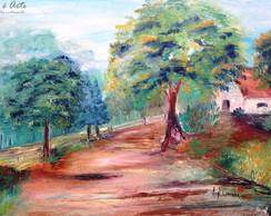 ... Pintura em tela - Caminho no campo II 972891a1dfd16