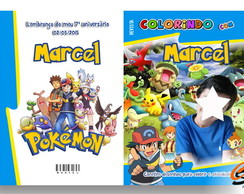 Revista Para Colorir Pokemon