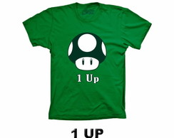 Camiseta 1 UP Mario Bros