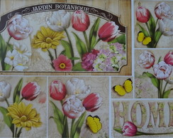 Papel Decoupage Flores PD-892