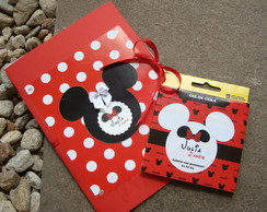 Caderno de Colorir com Giz - Minnie