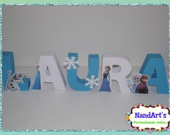 Letras decorativas 3D- Frozen