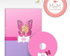 DVD+Capa Personalizados-Barbie Butterfly