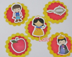 Aplique Scrap - Branca de Neve Cute