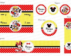 Kit Digital Turma da Minnie