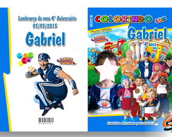 Revista para Colorir Lazy town
