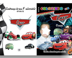 Revista personalizada - carros disney