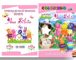 Revista Personalizada Backyardigans