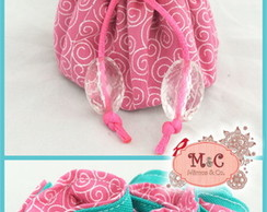 Mini Porta Bijoux Tiffany e Pink