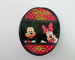 Rotulo para tubet minnie e mickey