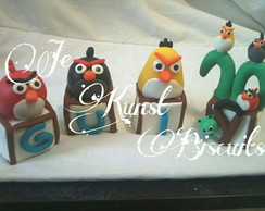 Cubos decorados Angry birds