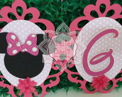 Bandeirola Minnie Scrap