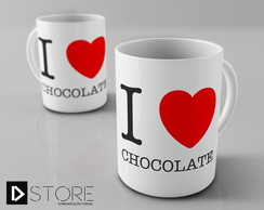 Caneca I Love Chocolate