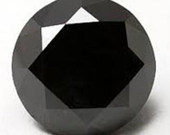 Moissanite Preto Substituto do Diamante