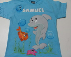 Camiseta Fundo do Mar