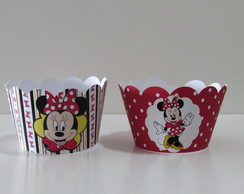 Wrapper / Saia de Cupcake Minnie
