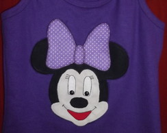 Camisetas em Patch Aplique Minnie