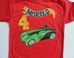 Camiseta - Hot wheels