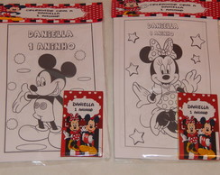 Kit pintura Minnie e Mickey