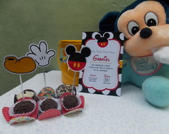 Topper com recorte especial Mickey Mouse