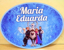 Placa PVC frozen