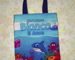 Bolsa fundo do mar 20x23