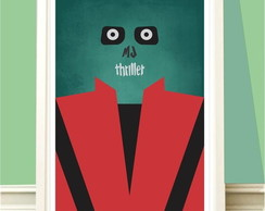 Poster A4 Michael Jackson Thriller