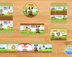 Arte Kit Digital - Mickey Safari