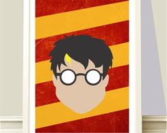 Poster A4 Harry Potter Face