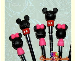 Ponteiras Mickey e Minnie