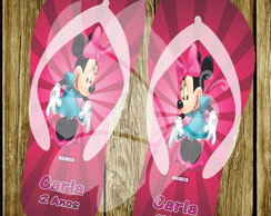 Chinelo Personalizado Minnie Mouse