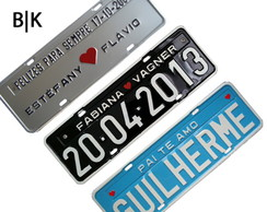 "Placas Personalizadas ""Decorativas"""