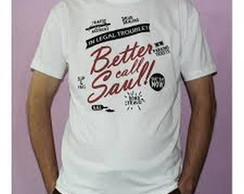 Camiseta Breaking Bad - Better Call Saul