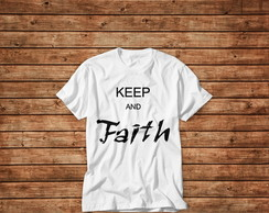 T-shirt Keep Faith Urban